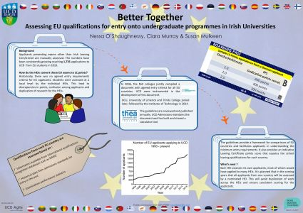 Better Together Assessing EU qualifications for entry onto under