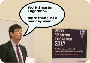 Mark Rogers launching the WST CoP