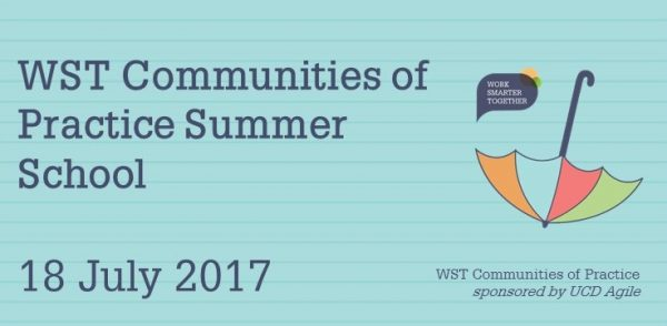 Register now for the WST CoP summer school on 18 July